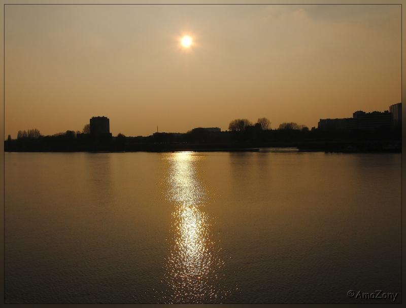 antwerpen,'t steen,schelde,wandelterras,valavond,zonsondergang,landschap