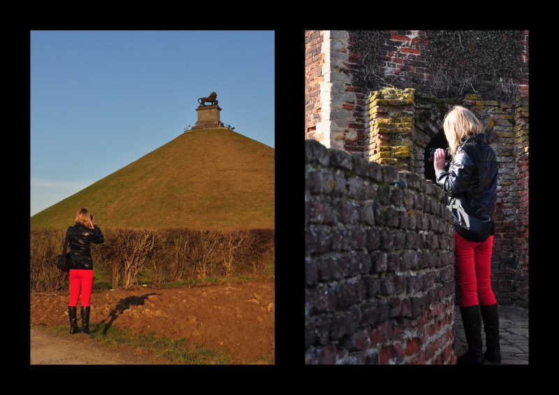 Lady in red,Antwerpen,graffiti,Waterloo,rood,Dinant,sax,vrouwen in rood,Kortrijk,