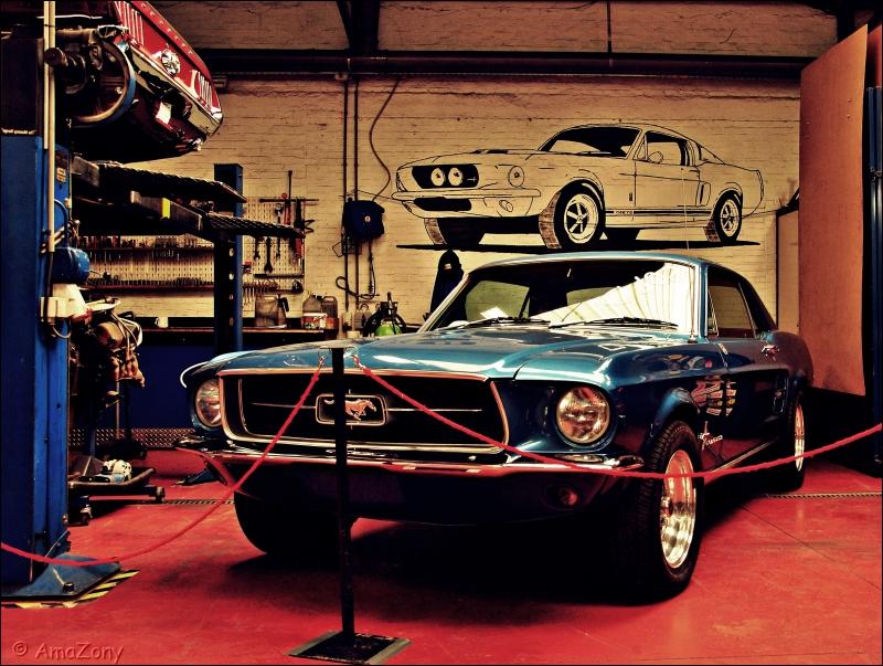 nieuwjaarswensen,Mustang,garage