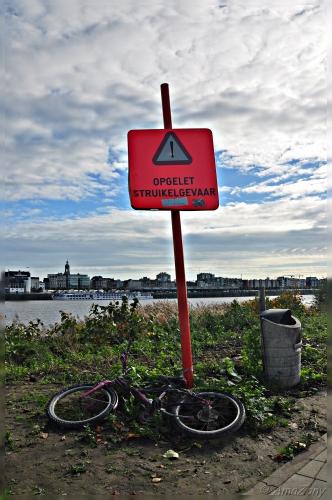 spring maar achterop,fiets,St Anneke,struikelgevaar,Amsterdam,Middelheimpark,Antwerpen,fietsen,velo,Kortrijk,fotografie