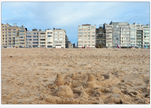 strand,Oostende,zomer